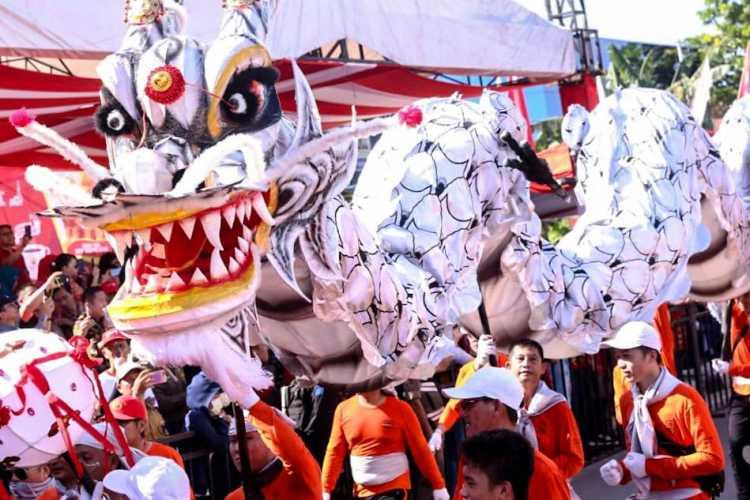 Perayaan Cap Go Meh di Singkawang Meriah Ada 76 Ribu Wisatawan