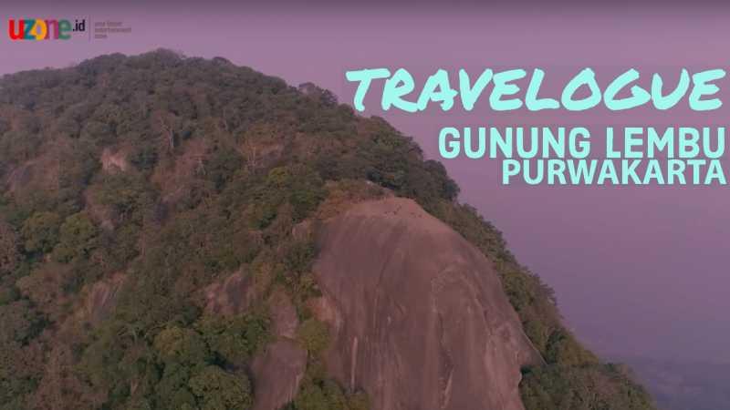 TRAVELOGUE eps 3 - PURWAKARTA : Gunung Lembu | Uzone.id