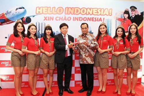 Vietjet Air Buka Rute Jakarta - Ho Chi Minh City
