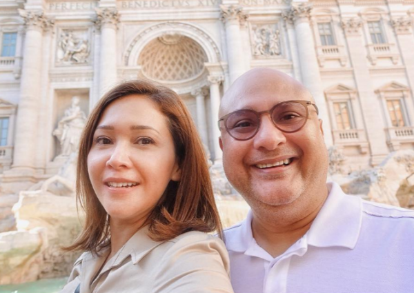 Intip 3 Lokasi Liburan Maia Estianty di Roma