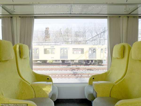 Unik, Interior Gerbong Kereta Jepang Ini Kayak Ruang Tamu
