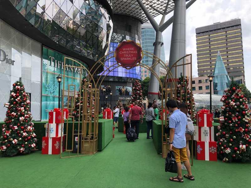 Jelang Natal, Spot Instagramable Bertebaran di Orchard Road Singapura