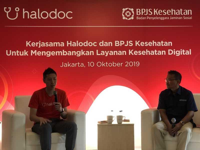 Gandeng BPJS, Halodoc Mau Digitalisasi Layanan Kesehatan ke Daerah Terpencil