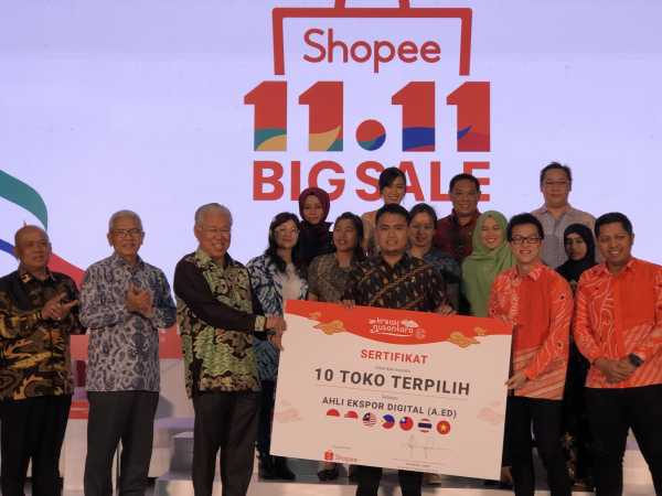 Shopee Genjot Produk Lokal <i>Go International</i>