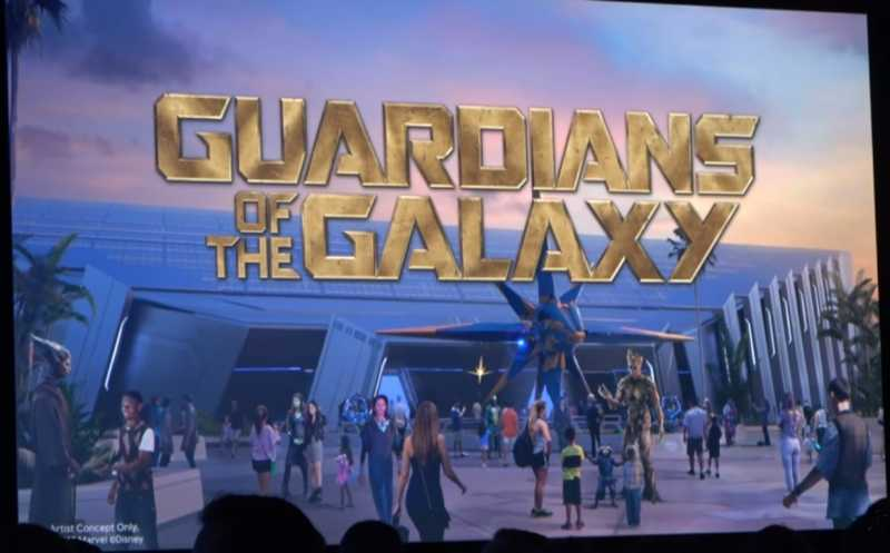 Walt Disney World Bakal Bikin 'Roller Coaster' Bertema 'Guardians of the Galaxy'