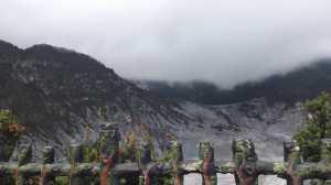 Detik-detik Gunung Tangkuban Erupsi