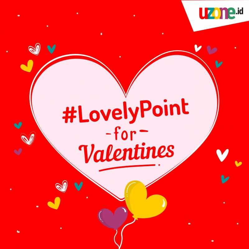 Bonus Uzone Point di Bulan Kasih Sayang