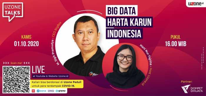 Uzone Talks - Big Data Harta Karun Indonesia