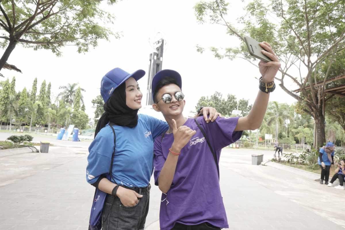 Digirace, Cara XL Axiata Buktikan Kualitas Jaringan Fiber untuk Data di Luar Jawa