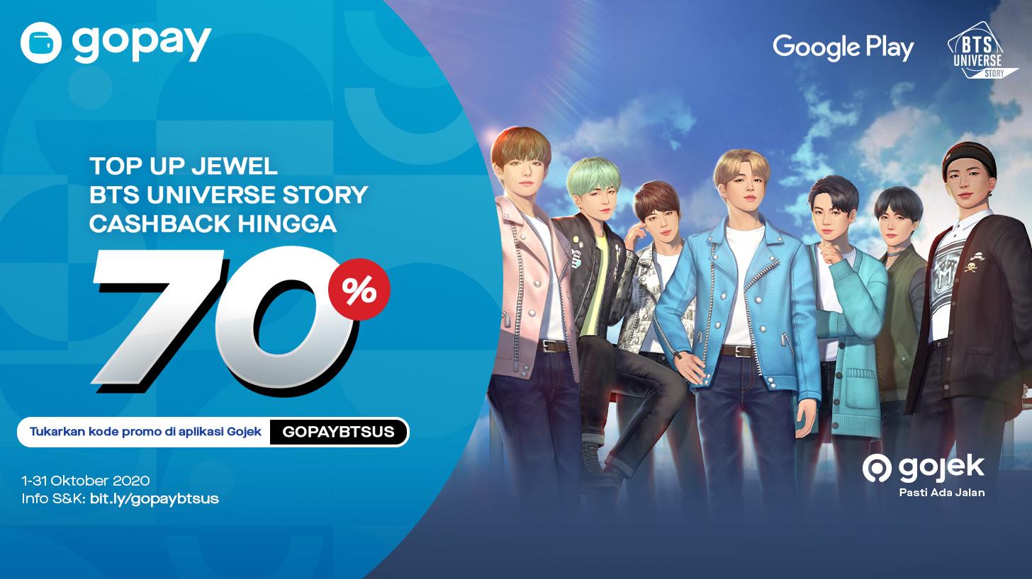 [BTS Universe Story] Netmarble dan Gopay Hadirkan Promo Menarik Untuk Game Mobile Sosial Interaktif