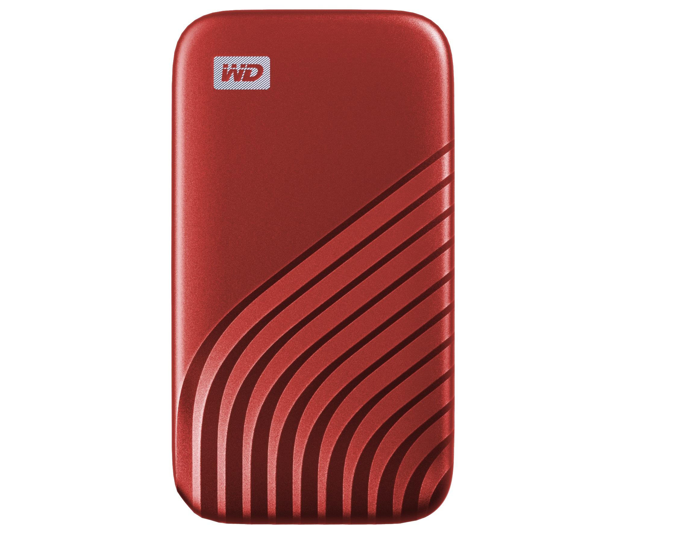 WD MyPassportSSD - Red