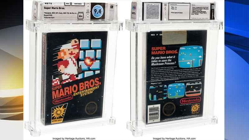 Video Game Super Mario Bros Jadul Laku Rp1,6 Miliar