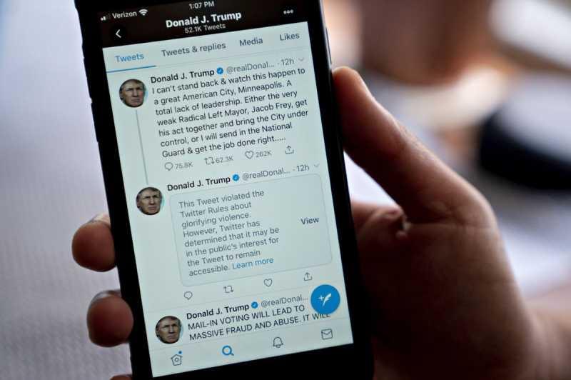 Kronologi 'Cekcok' Twitter vs Trump, Seberapa Penting Dampaknya?