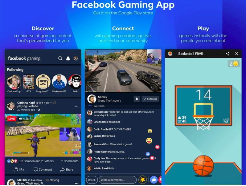Facebook Gaming Kini Jadi Aplikasi Sendiri, Ada Turnamen dan Maraton Livestream