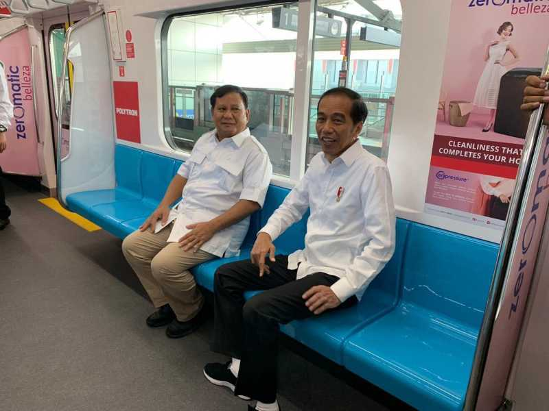 Jokowi Pamer Foto Bareng Prabowo di Instagram, Netizen 'Meleleh'