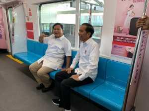 Lihat Jokowi dan Prabowo Akur, Netizen Bersorak #03PersatuanIndonesia di Medsos