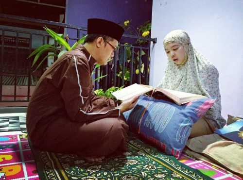 Ibadah Ramadan bersama keluarga - @edik12