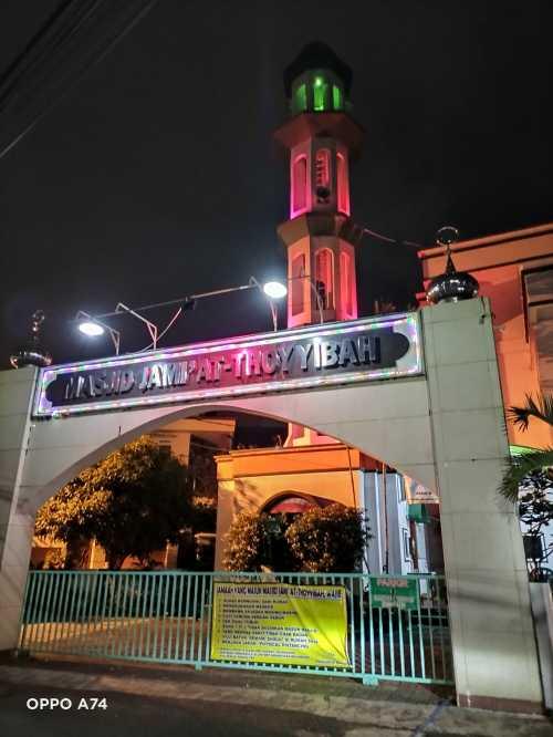 Malam Ramadan saat Pandemi. by: @rsaarsf Foto: Oppo A74