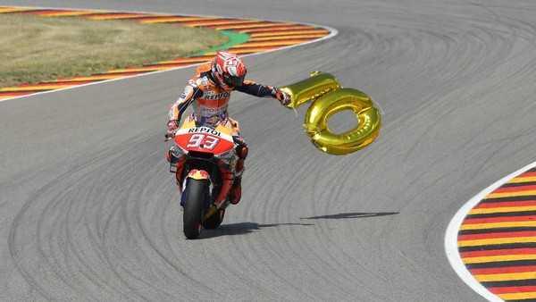 Marquez King of Germany: 10 Tahun, 10 Pole, 10 Podium