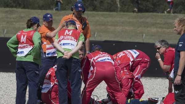 Bocah Depok Kecelakaan Hebat Saat Latihan Bebas MotoGP Belanda