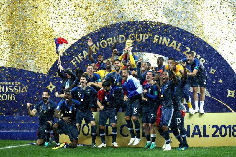 Berapa Jumlah Hadiah yang Diterima Prancis Sebagai Juara Piala Dunia 2018?
