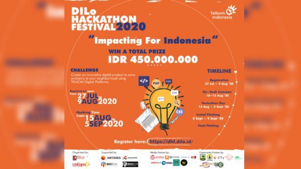 DILo Hackathon Festival 2020 Umumkan Pemenang di 6 Kategori
