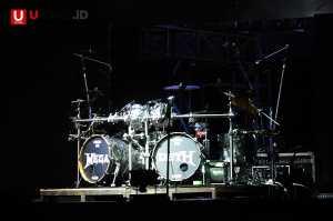 Set drum Megadeth di Hammersonic 2017  / © Ari Setiyawan