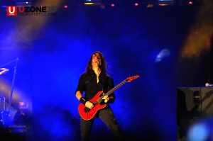 Penampilan Kiko Loureiro Megadeth di Hammersonic 2017 / © Ari Setiyawan
