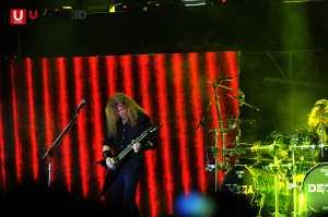 Tampil tengah malam di Hammersonic Megadeth tetap energik / © Ari Setiyawan