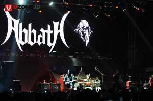 Abbath band black metal di Hammersonic 2017 / © Ari Setiyawan