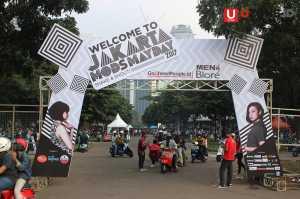 Pintu Masuk Jakarta Mods May Day 2017 / © Ari Setiyawan