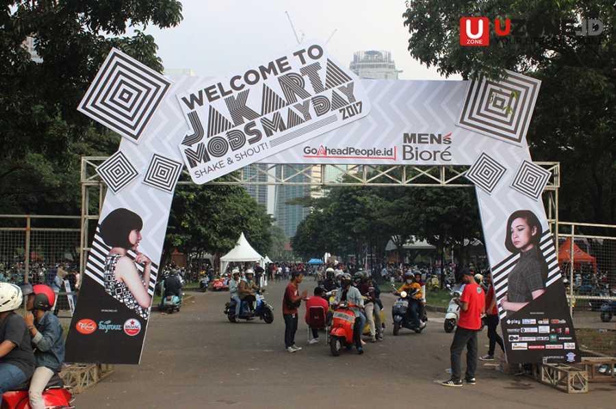 Jakarta Mods May Day 2017, Kala Senayan Jadi Lautan Vespa