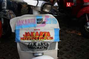 Salah satu motor yang ikut dalam kegitan Jakarta Mods May Day di tahun 2015, 2016 dan 2017 / © Ari Setiyawan