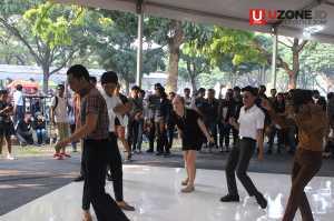 Berdansa ala Mods di Jakarta Mods May Day 2017 / © Ari Setiyawan