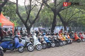 Motor Peserta Jakarta Mods May Day 2017 / © Ari Setiyawan