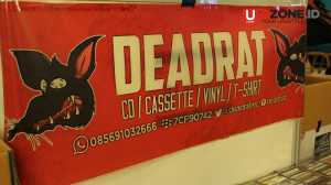 Deadrat salah satu toko cd yang ikut meramaikan Record Store Day di Kuningan City / © Ari Setiyawan