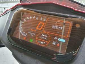 Multi Information Display dengan layar gede kayak mobil dan isinya lengkap pula (Bagja - Uzone.id )