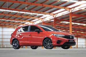Penampakan Honda City Hatchback RS (HPM)