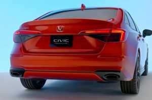 Honda Civic generasi ke-11 akan mendapat fitur standar (Foto: Honda)
