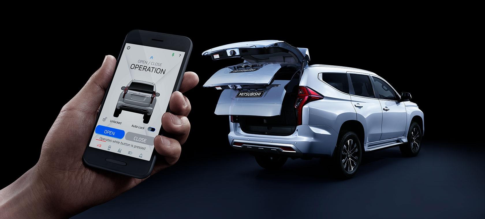 Fitur Baru di Pajero Sport Facelift, Buka Tutup Pintu Pakai Aplikasi