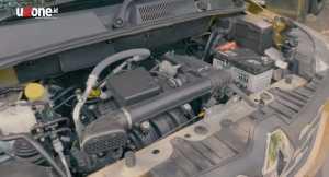 Mesinnya cuma 1.000cc 3 silinder. Bertenaga 72 Hp dan torsinya 96 Nm. Bersanding dengan transmisi manual 5 speed (Bagja - Uzone.id)