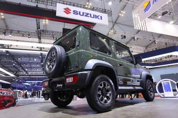 Suzuki Bangun Pabrik Ketiga di Myanmar, Produksi Jimny ?