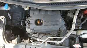 Mengandalkan mesin berkapasitas 998cc 3 silinder DOHC VVT, bertenaga 68 PS dan torsinya 90 NM (Bagja - Uzone.id)