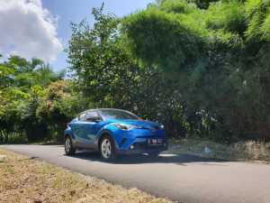 Toyota C-HR punya keunggulan di tampang agresifnya yang gak biasa (Bagja - Uzone.id)