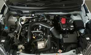 Mesinnya 1.000cc 3 silinder bertenaga 98 PS dan torsinya 140 Nm