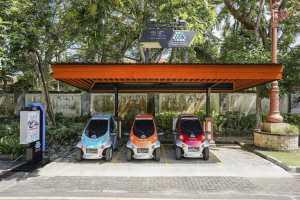 Stasiun pengisian listrik di Bali (TAM)