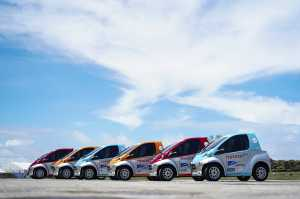 Jajran mobil-mobil mungil bertenaga listrik Toyota (TAM)