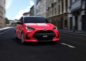 Yaris generasi 4 lebih ringan 50 kg dibanding generasi sebelumnya yang dijual di Jepang.