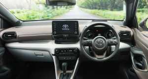 Pakai head up display yang sebelumnya dipakai pada Mazda 2 dan Mitsubishi Eclipse Cross.