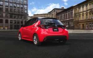 Yaris generasi 4 tersedia pilihan mesin 1.000 cc, 1.500 cc dan 1.500 cc hybrid.